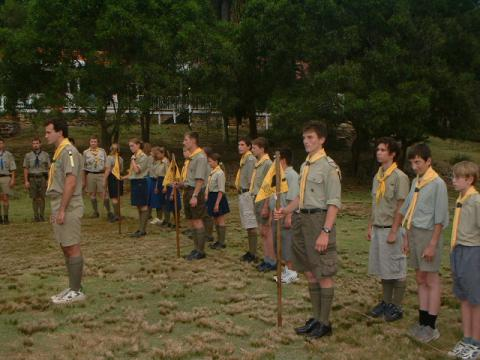 Новые галстуки в лагере НОРС (2003)