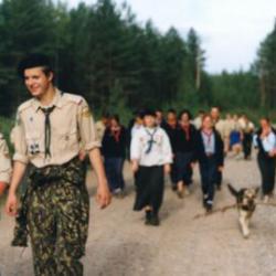 """1 подготовительный лагерь российской команды к """"Eurojam-2003"""" 173"""