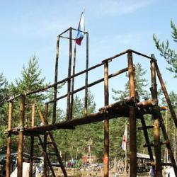 Ворота в лагерь
