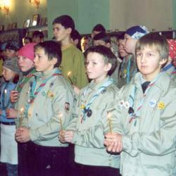 10-летний юбилей Скаутов Карелии