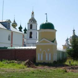 Монастырь в селе Введеньё
