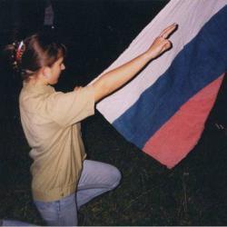 Даю Троржественное Обещание. Овсянниково, осень 1999г.