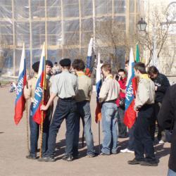 Скаутский парад в Павловске 30 апреля 2006 г. 11