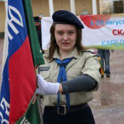 Парад и праздничный бивуак в Павловске 36