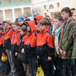 Парад и праздничный бивуак в Павловске 58