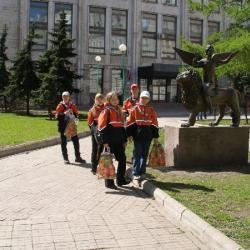 Скаутский парад в день Св. Георгия (6 мая, Москва, Поклонная гора) 22