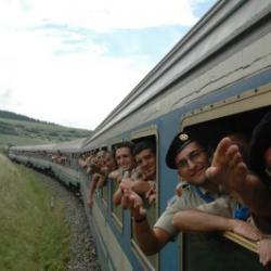 Скаутский поезд