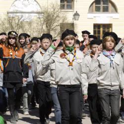 Представление об истории скаутского и детского движения России и торжественный Парад 29