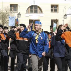Представление об истории скаутского и детского движения России и торжественный Парад 32