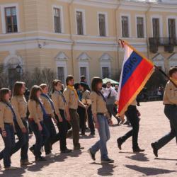 Представление об истории скаутского и детского движения России и торжественный Парад 55