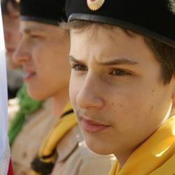 """Добровольцы НОРД """"Русь"""" на праздничном параде в Павловске 16"""