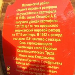 """""""Тайны Мариинска"""" Памятник картошке"""