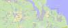 Ст. Сосново и место юбилейного слёта ОРЮР-2009